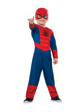 Exceptional Ultimate Spiderman Toddler Costume
