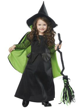 Wizard of Oz - Baby/Toddler Wicked Witch Costume