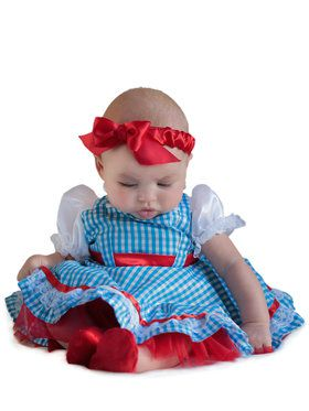 Wizard Of Oz Dorothy New Born Costume
