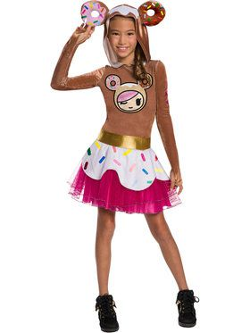 Tokidoki Donutella Girl's Costume