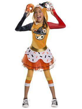 Tokidoki Girls Halloween Donutella Costume