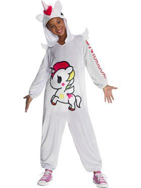 Tokidoki Stellina Jumpsuit Child Costume