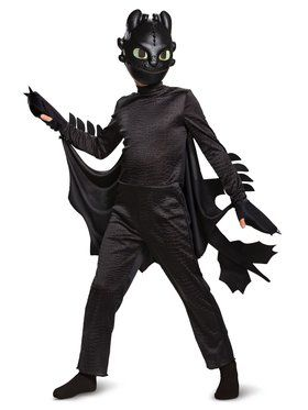 Toothless Deluxe Toddler Costume
