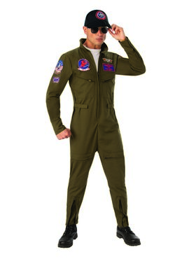 Deluxe Adult Top Gun Costume
