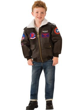 Children's Top Gun Bomber Jacket