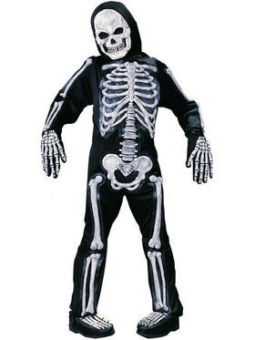 Totally Skelebones Child Costume