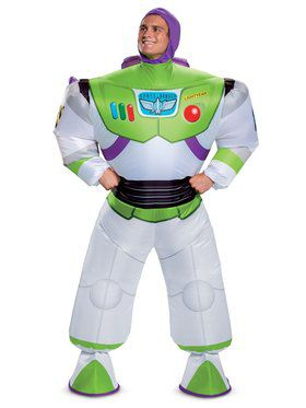 Toy Story 4: Buzz Lightyear Inflatable Adult Costume
