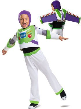 Toy Story Child Buzz Lightyear Costume Kit