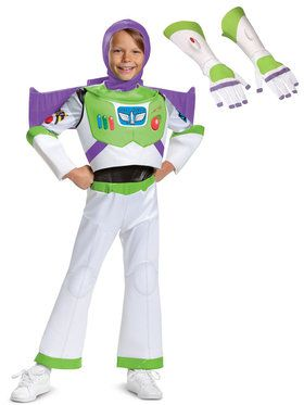 Toy Story Child Buzz Lightyear Deluxe Costume Kit