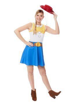 Jessie Women's Toy Story 4 Dress Costume