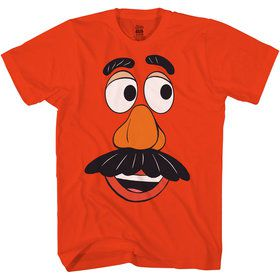 Mr. Potato Head Men's Toy Story 4 Shirt Costume