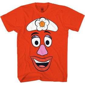 Mrs. Potato Head Women's Toy Story 4 Shirt Costume