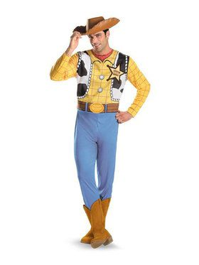 Plus Adult Woody Toy Story Costume