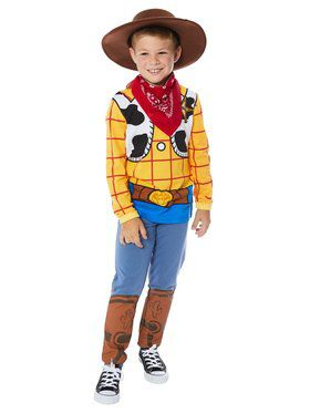 Woody Boy's Toy Story 4 Hooded Shirt and Pants Costume