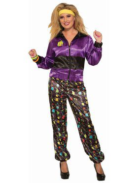 Track Suit Female Adult Costume