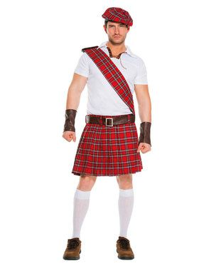 Traditional Scottish Man