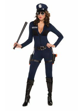 Traffic Stoppin' Cop Adult Costume