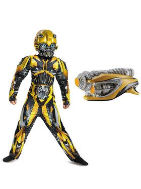 Transformers Bumblebee Children's Classic Muscle Costume Kit