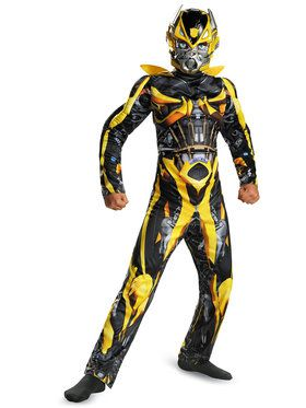 Boys Transformers 4 Bumblebee Classic M