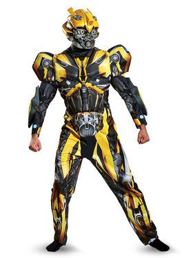 Adult Deluxe Bumblebee Transformers Costume