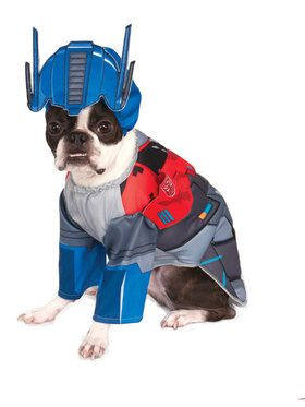 Deluxe Transformers Optimus Pet Costume