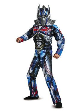 Optimus Prime Transformers Muscle Classic Costume