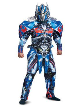 Adult Deluxe Optimus Prime Transformers Costume
