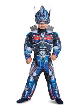 Optimus Prime Transformers Toddler Muscle Costume