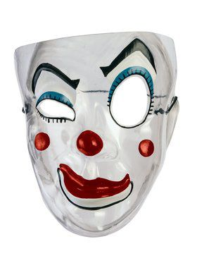 Transparent Clown 2018 Halloween Masks for Adults