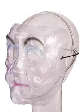 Transparent Old Lady 2018 Halloween Masks