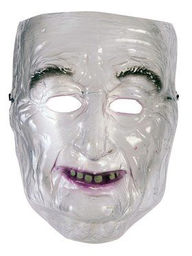 Transparent Old Man 2018 Halloween Masks