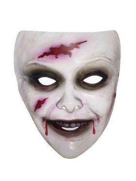 Transparent Female Zombie 2018 Halloween Masks