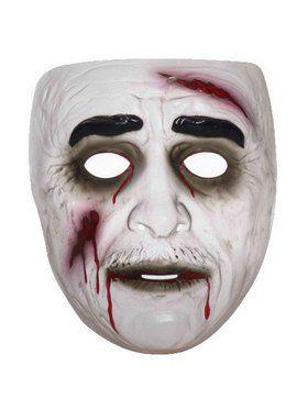 Transparent Male Zombie 2018 Halloween Masks