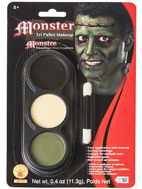 Tri Color Pallettes Monster Makeup Kit