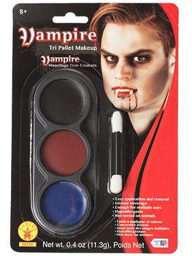Tri Color Pallettes Vampire Makeup Kit