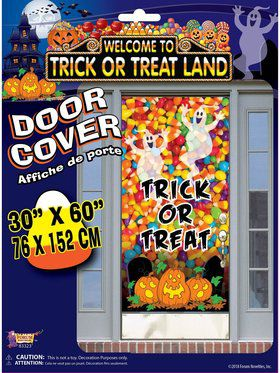 Trick Or Treat Land - Door Cover