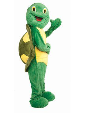 Turtle Mascot Adult Costume