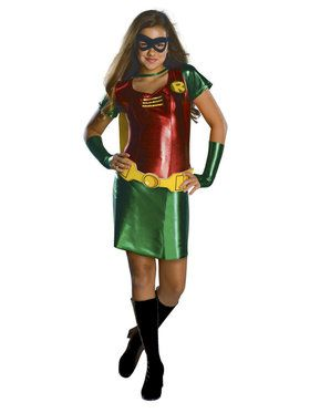Girl's Robin Teen Titan Costume