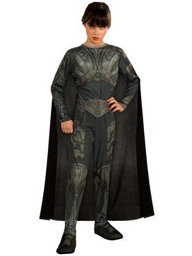 Tween Faora Costume