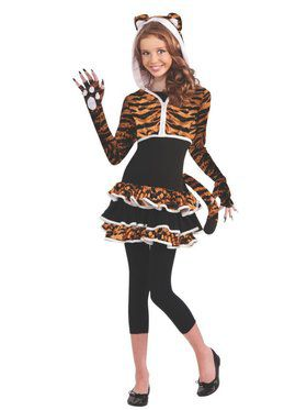 Tween Tigress Child Costume
