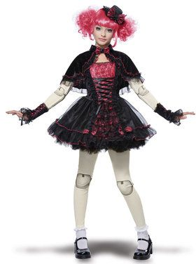 Tween Victorian Doll Costume