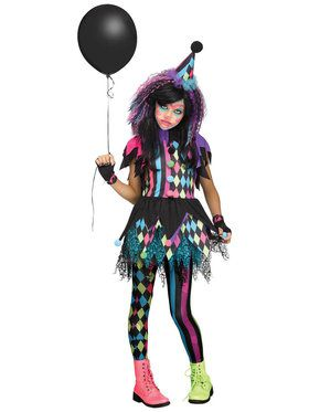 Twisted Circus Child Costume