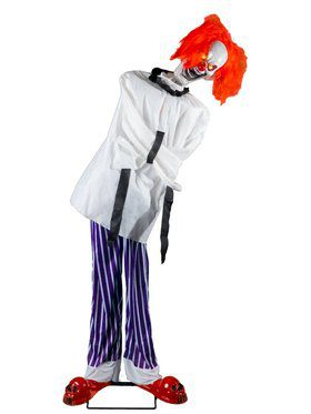 Twitching Straight Jacket Clown