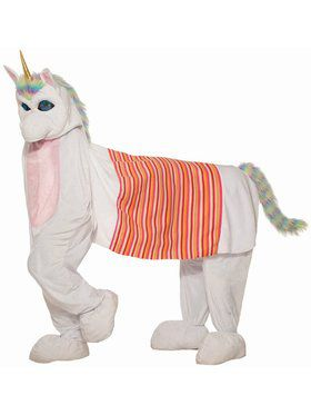 Two Man Unicorn Adult Costume