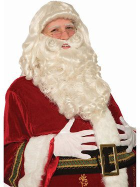 Ultra Premium Santa Wig & Beard Set