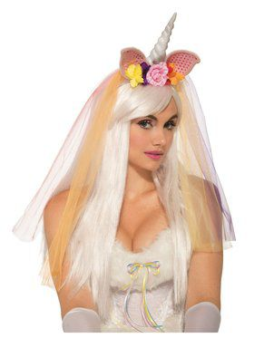 Floral Unicorn Headpiece for Adults