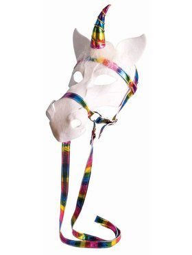 Unicorn Mask With Bridle