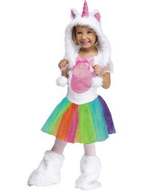 Unicorn Rainbow Tutu - Toddler Costume