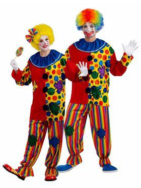 Big Top Unisex Clown Costume