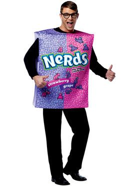 Unisex Nestle Nerds Box Adult Costume